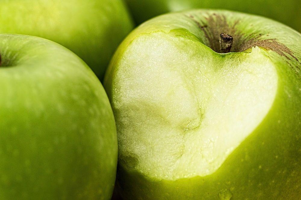 La manzana contra la acidez