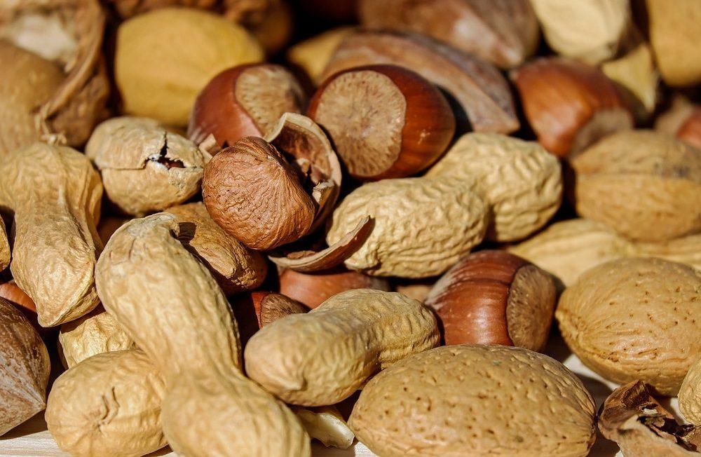 Los frutos secos son un buen snack entre horas