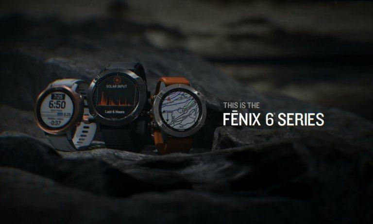 Nueva gama Garmin Fenix 6, 6S y 6X