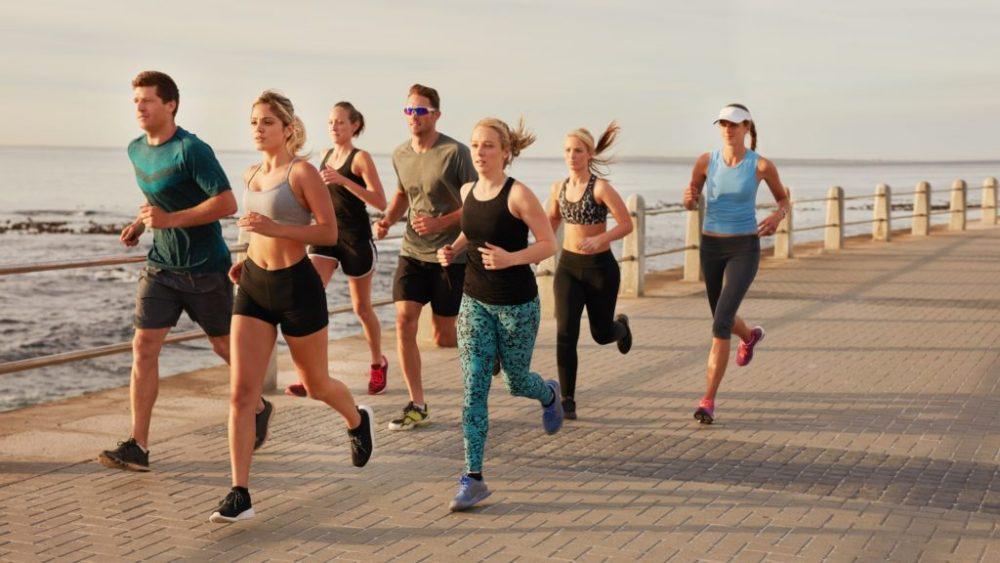 Hay ventajas e inconvenientes de correr en grupo