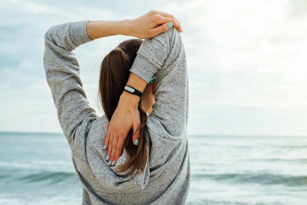 Ejercicios de flexibilidad en hombros