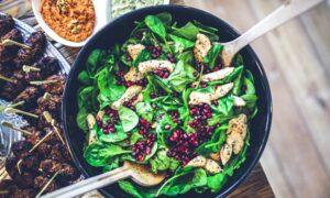 Ensalada espinacas
