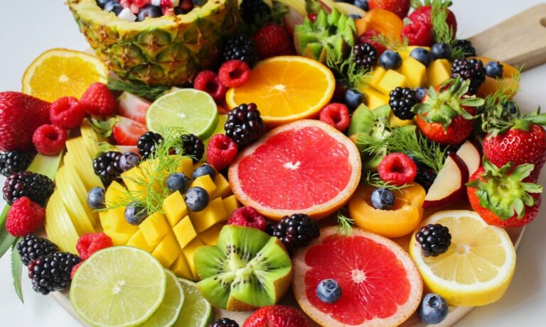 Frutas de temporada en España