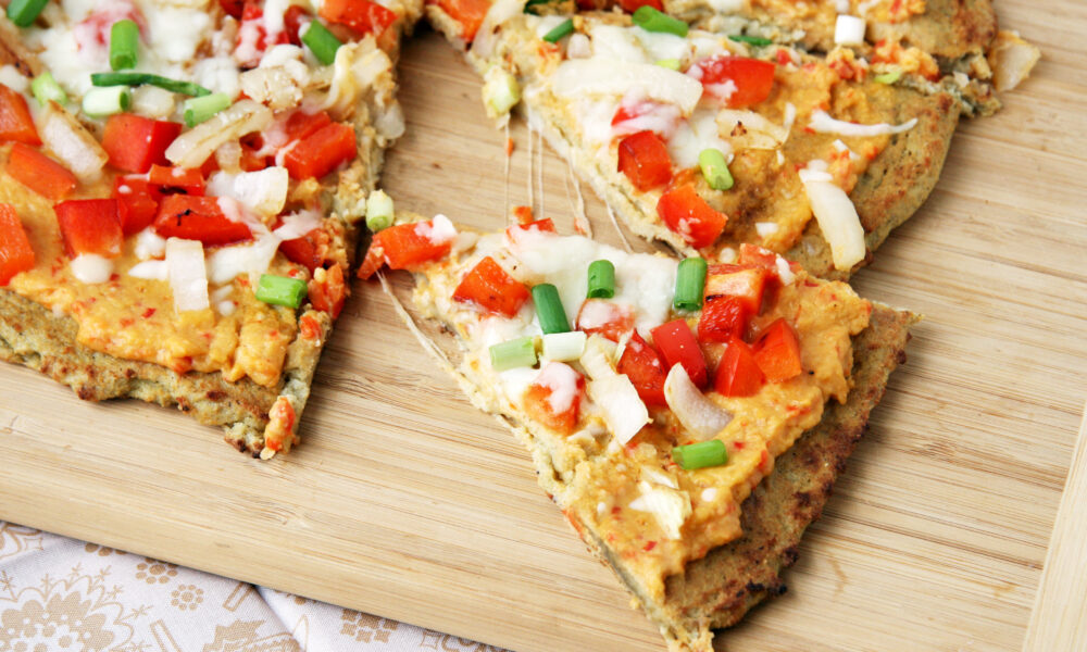 3 recetas de pizza saludable