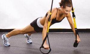 7 ejercicios de brazos con TRX para tu entrenamiento en suspensión