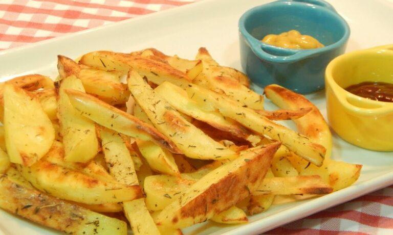 recetas de patatas fritas sin aceite